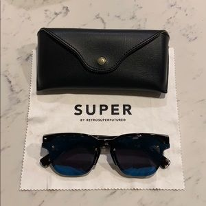 67d90da99ad RetroSuperFuture Euclid Blue Mirror Sunglasses